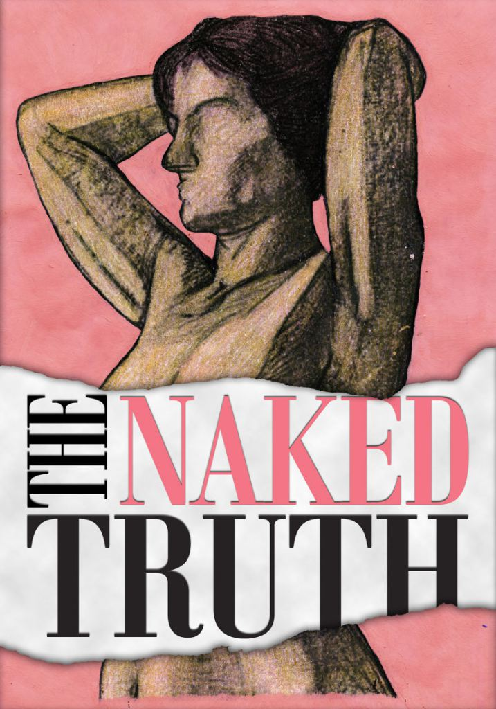 The Naked Truth Art Cover created and designed by JA Creative Group